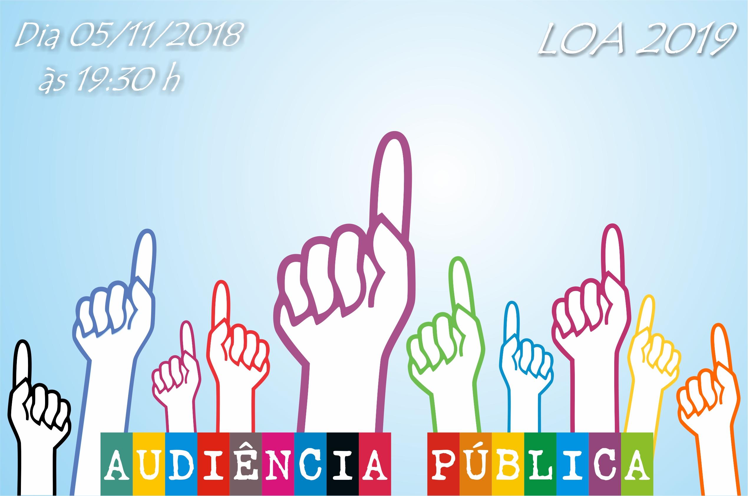 Audiência Pública - LOA 2019