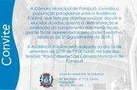 Audiência Pública - 16/09/2019