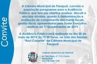 Audiência Pública - 20/05/2019