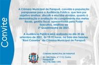 Audiência Pública - 20/09/2021