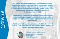Audiência Pública - 22/02/2021