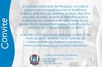Audiência Pública - 27/05/2020