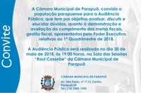 Audiência Pública - 30/05/2018